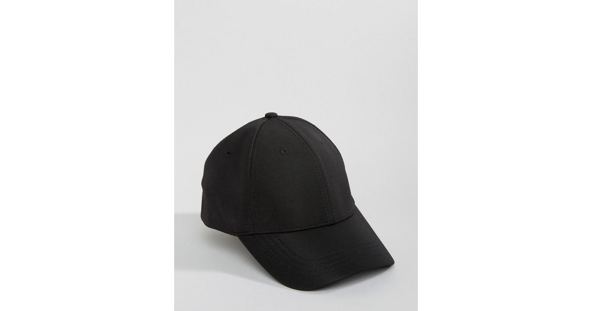 3f8d4b575ef Lyst - New Look Baseball Cap In Black in Black for Men