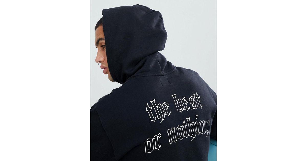 781d7284b8ed Lyst - Edwin Best Or Nothing Hoodie in Black for Men