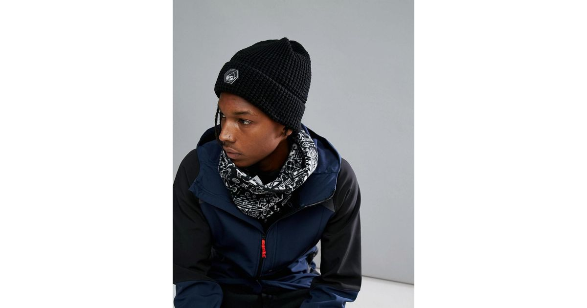 Jeremy Jones Knit Beanie in Black - Blackout O'Neill 1rDH6CH