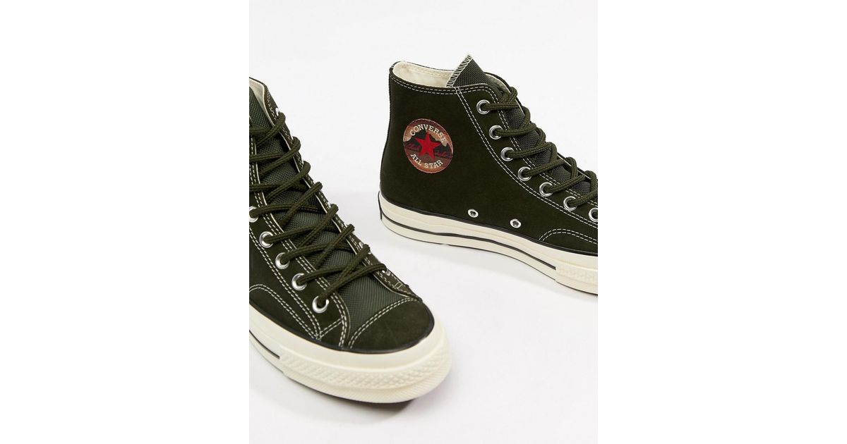 c02652c5f132 Converse Chuck Taylor All Star  70 Hi Trainers In Green 162371c in Green  for Men - Lyst
