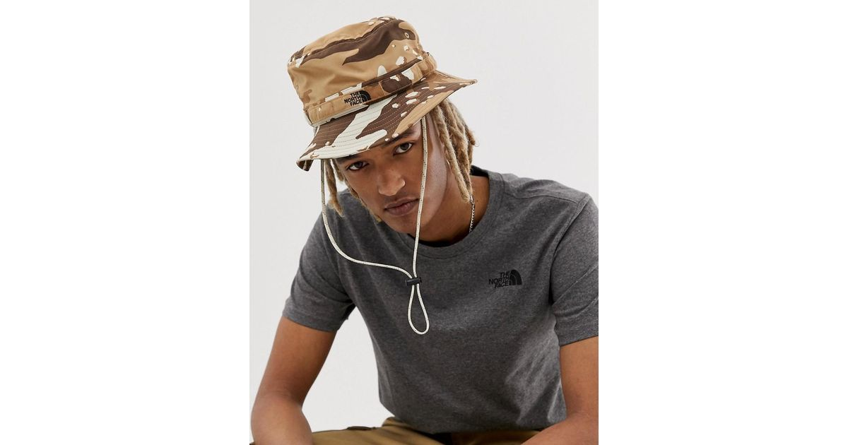 675400718 The North Face - Multicolor Class V Brimmer Hat In Camo for Men - Lyst