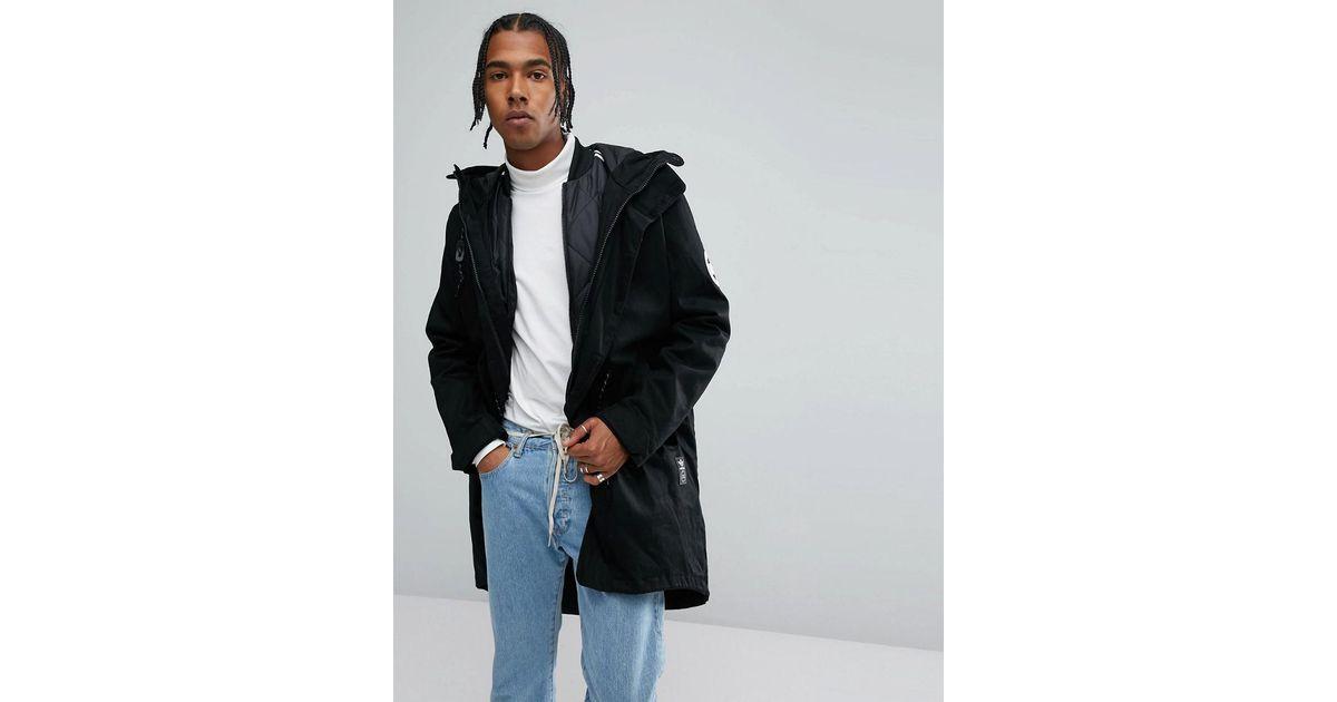 fonctionnelle veste amovible pour Parka Originals Lyst Adidas avec 5qxCgHqwt
