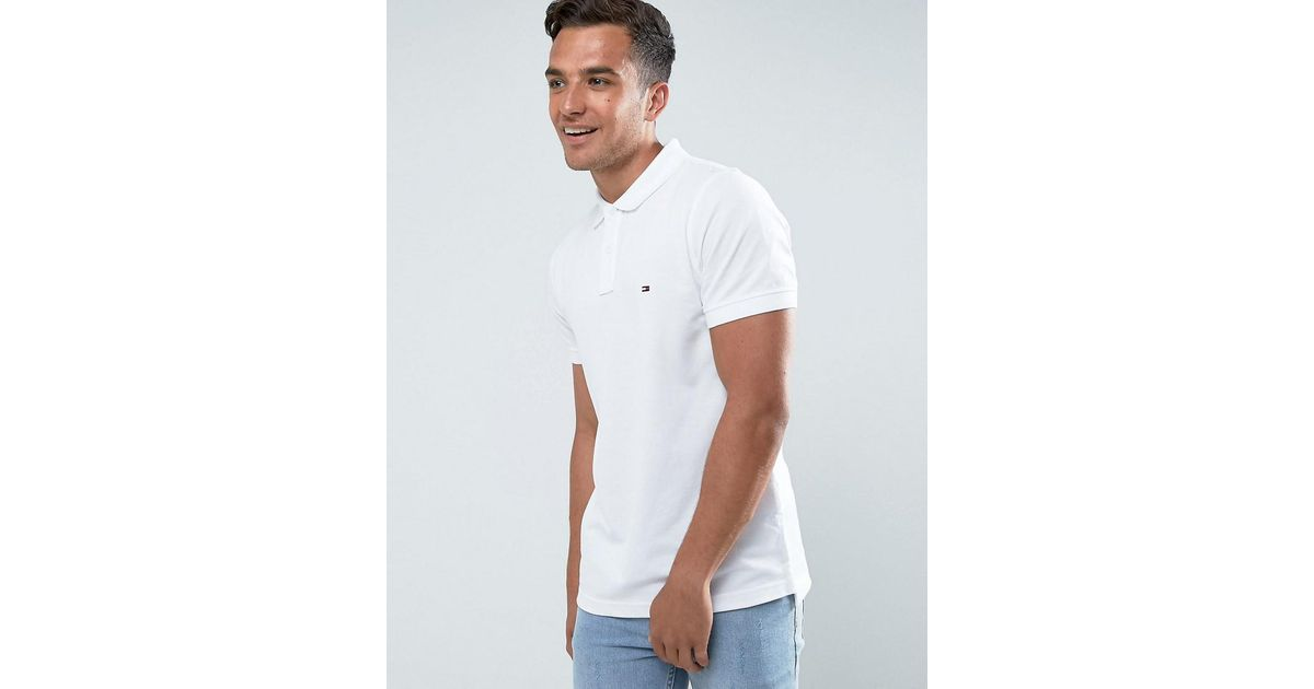 Slim Fit Luxury Pique Polo | Tommy Hilfiger