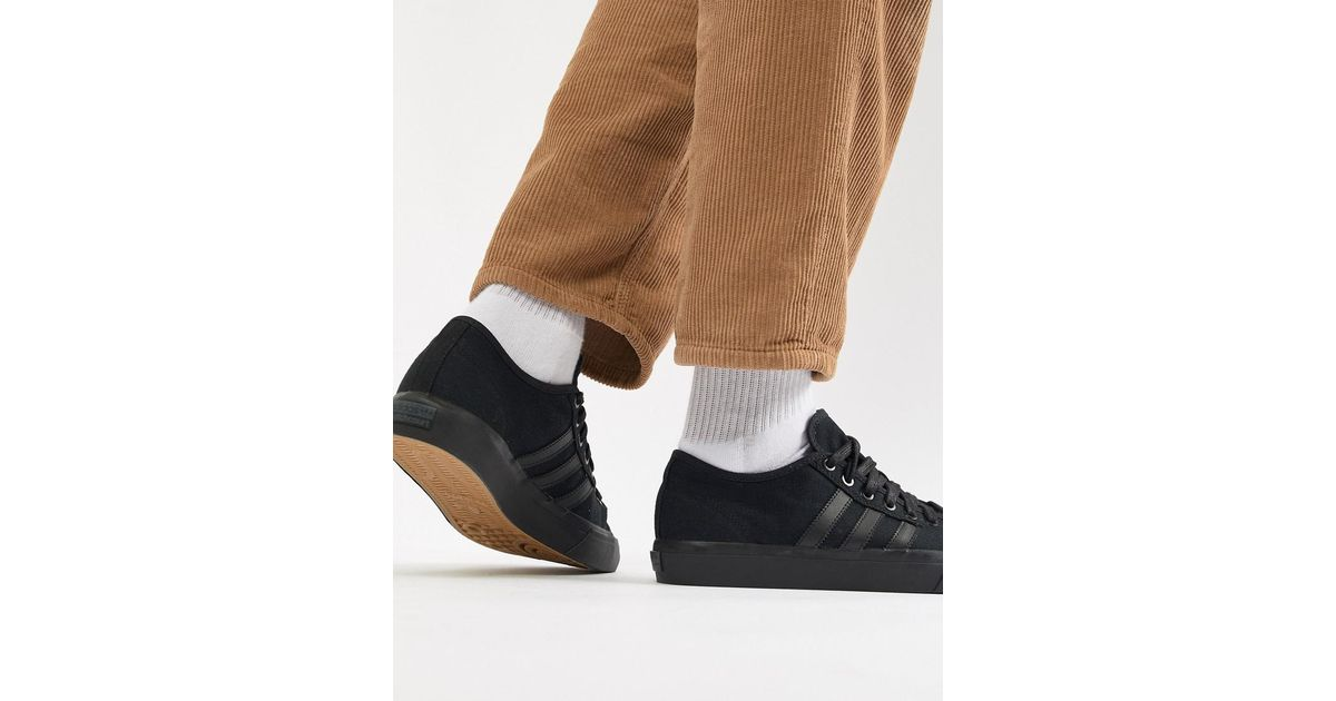 5317b549478ced adidas Originals Matchcourt Rx Trainers In Black By3536 in Black for Men -  Lyst