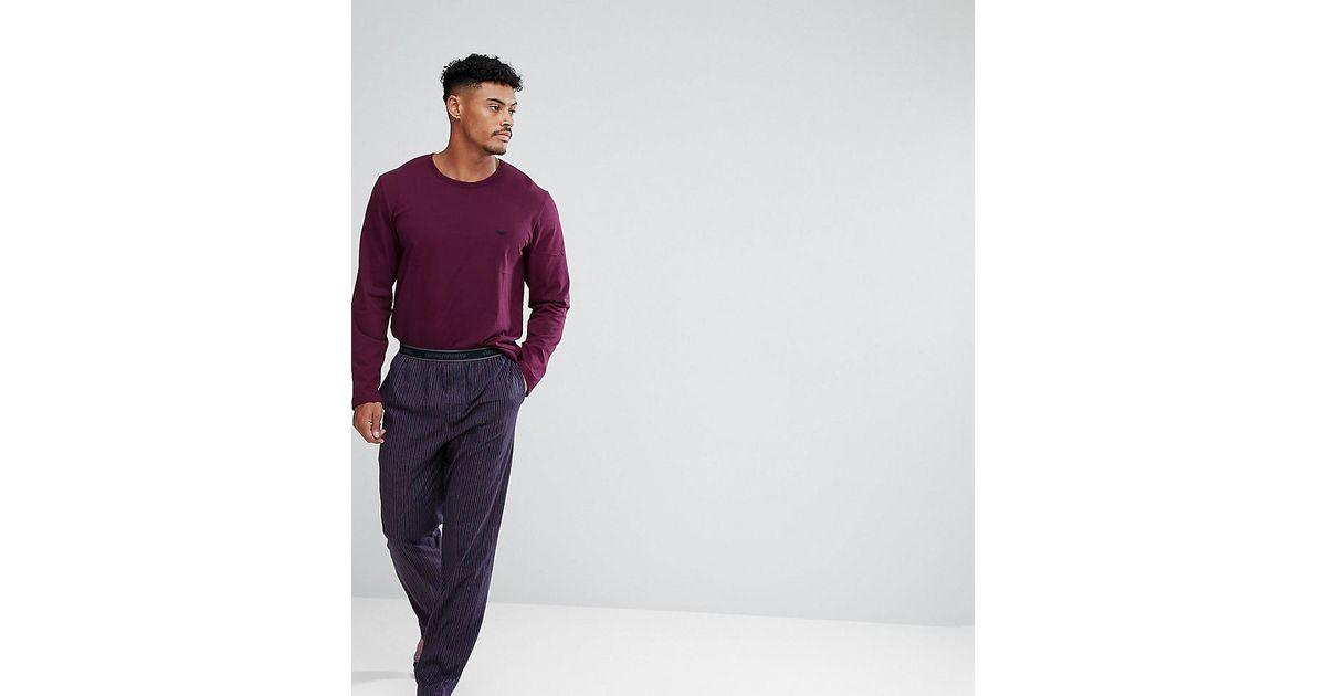 Mens Pyjama Set Emporio Armani Cheap Best Sale pSjTB