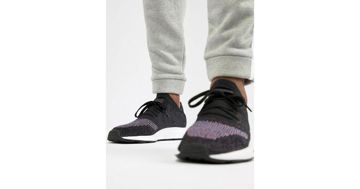 Herren Adidas Swift Run Primeknit Trainers Primeknit