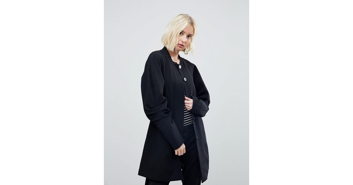Vero Moda Coat With Volumous Sleeves Free Shipping Low Price Ogxs10gY