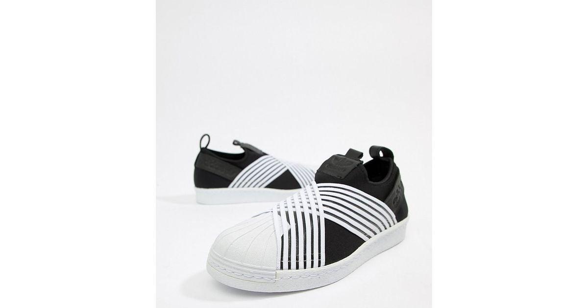 adidas Originals Superstar Slip On Sneakers