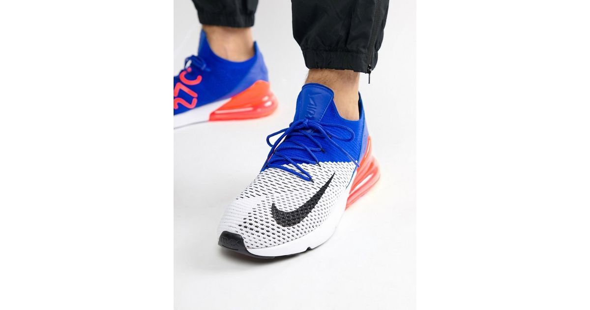 1c5e0ec28a9eb ... new arrivals nike air max 270 flyknit trainers in white ao1023 101 in  white for men