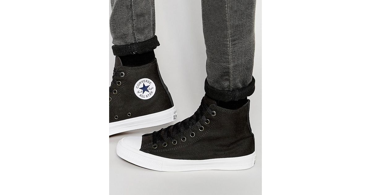 Converse Chuck Taylor All Star Street Sneaker Boots In Black 157496C001 clearance browse VKvqoKZ