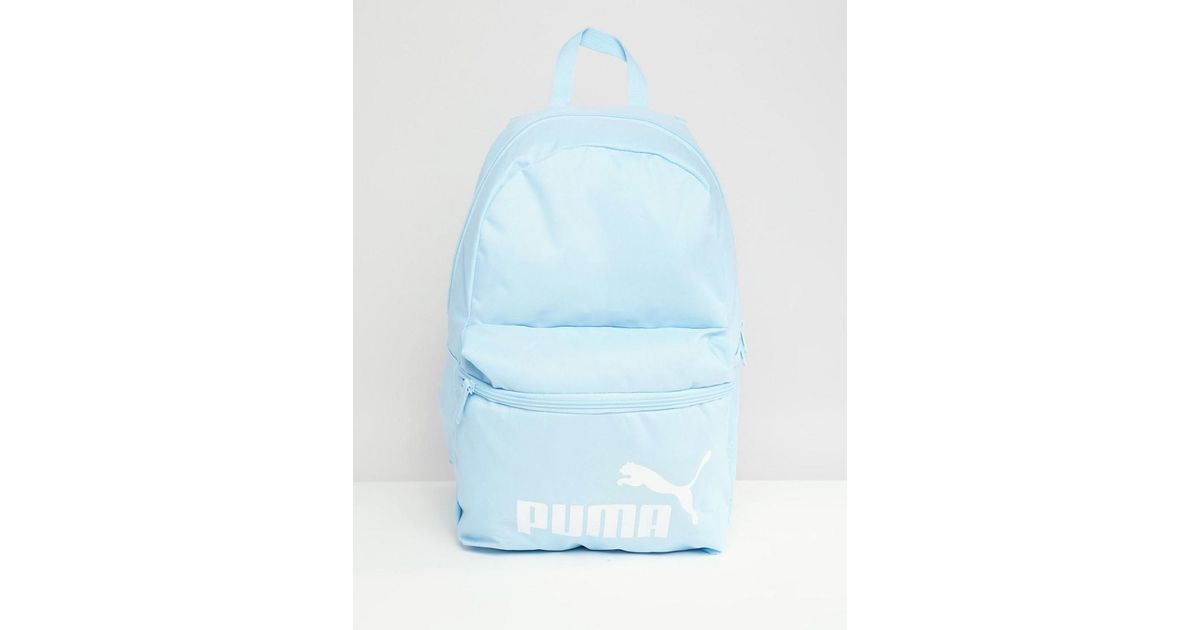 PUMA Phase Backpack In Blue 07548710 in Blue for Men - Lyst c0179872c66fc