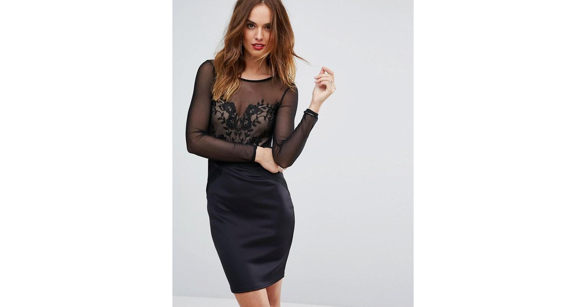6cf372d6 Lipsy Black Mesh Dress Gallery - Black Dress Ideas