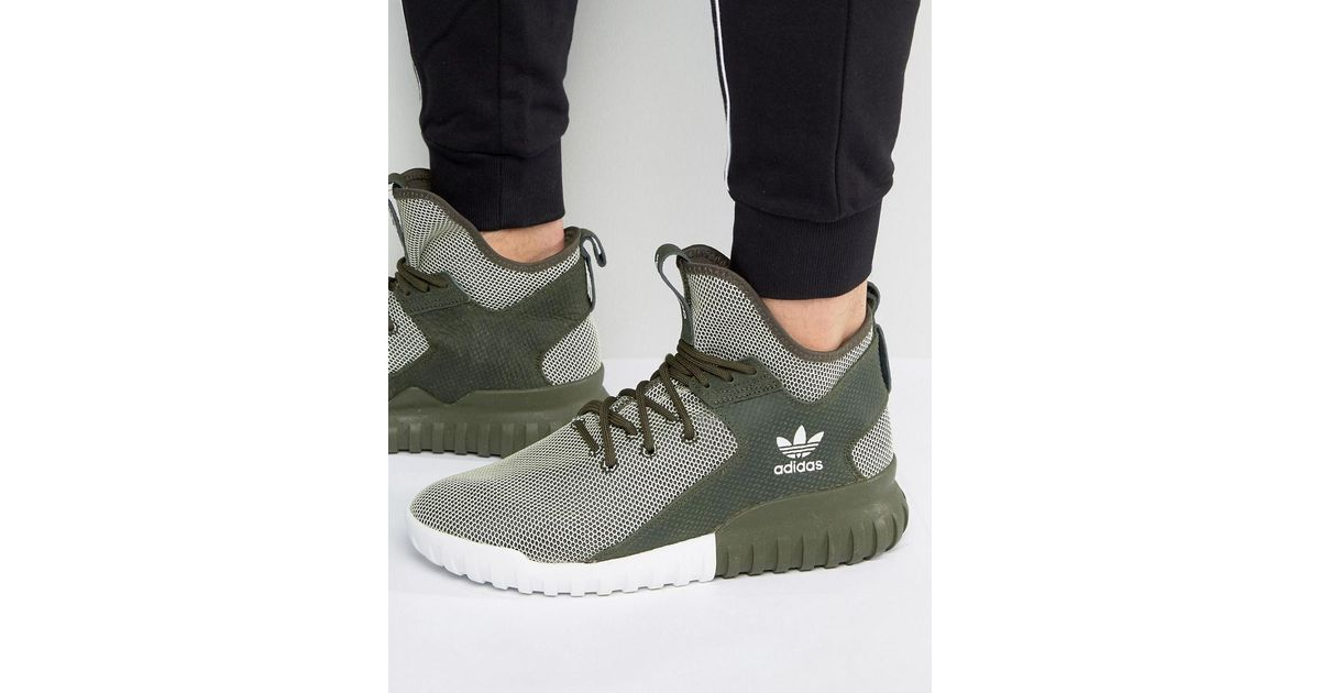 782c5d4e3d3b Men S Adidas Tubular X Casual Shoes Green - Style Guru  Fashion ...