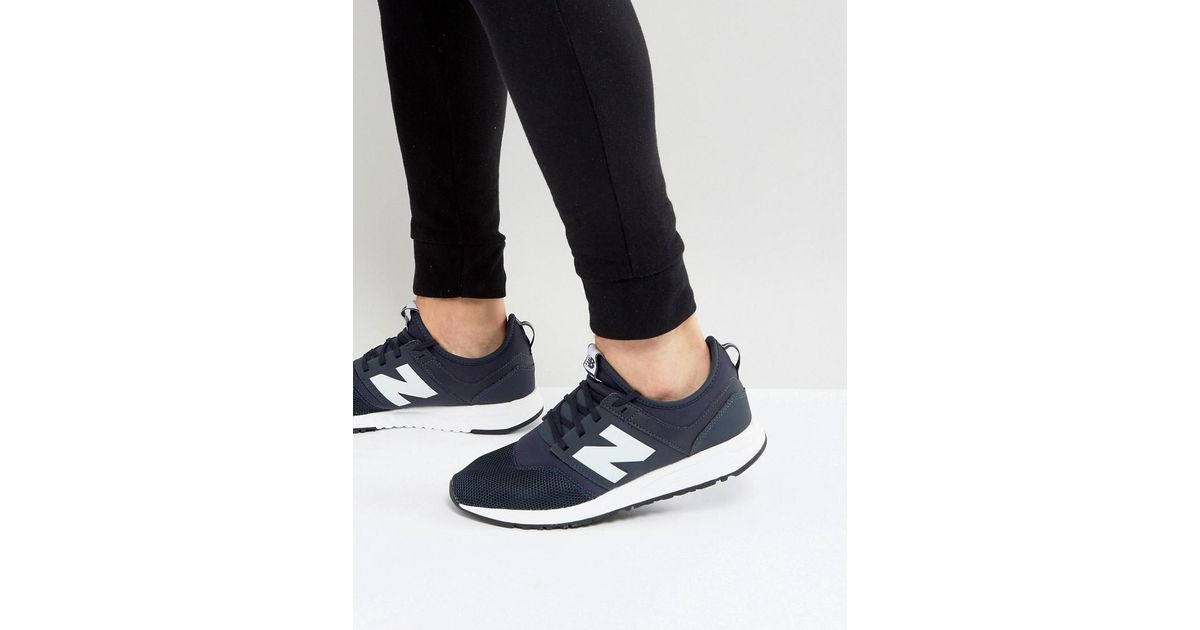 new balance 247 trainers navy navy