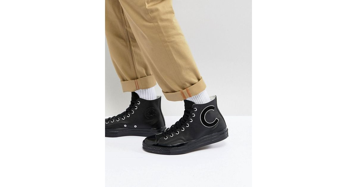 f086b18b8410 Lyst - Converse Chuck Taylor All Star 70 Hi Plimsolls In Black 159680c in  Black for Men