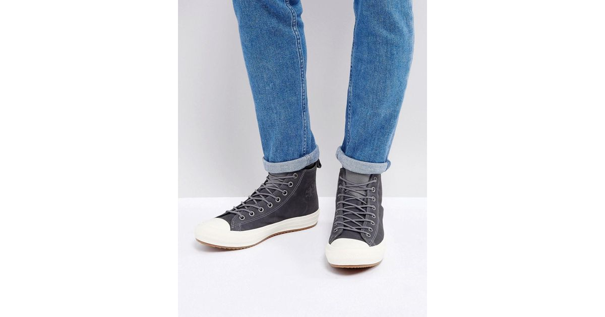 85cfd06bdb8e Lyst - Converse Chuck Taylor All Star Wp Sneaker Boots In Grey 157459c048  in Gray for Men