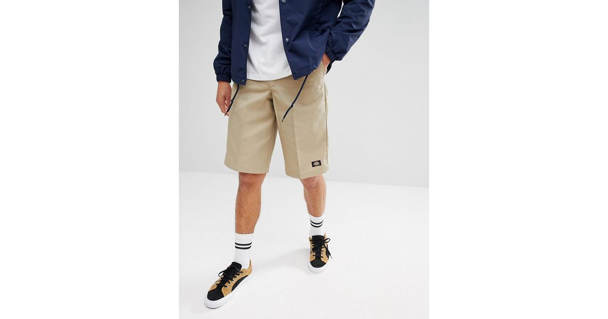 47346aa7bd Dickies 13 Inch Multi Pocket Work Shorts In Stone for Men - Lyst