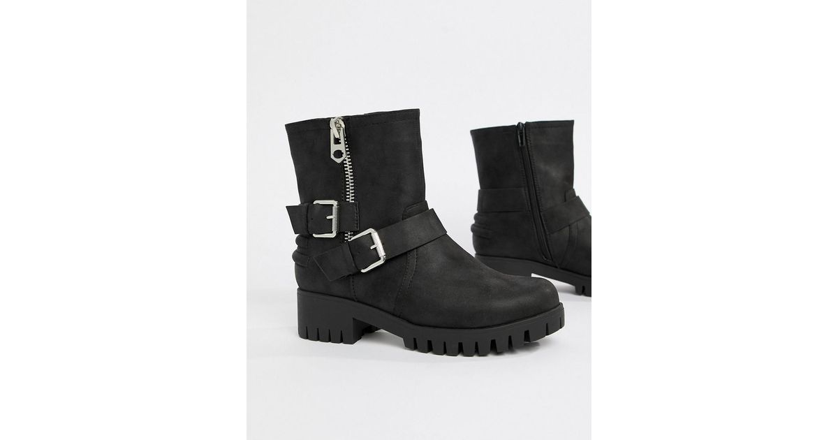 best price reliable quality most popular Blink Black Biker Ankle Boots