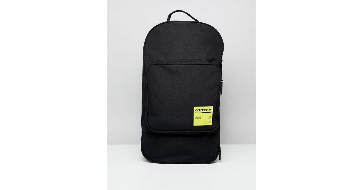 Lyst - adidas Originals Large Kaval Backpack In Black Dm1693 in Black for  Men 22b3ea779b
