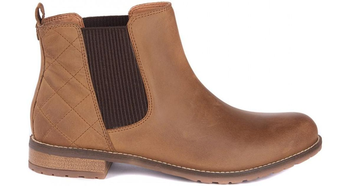 9f8522ba7e08 Barbour Abigail Womens Chelsea Boots in Brown - Save 1% - Lyst
