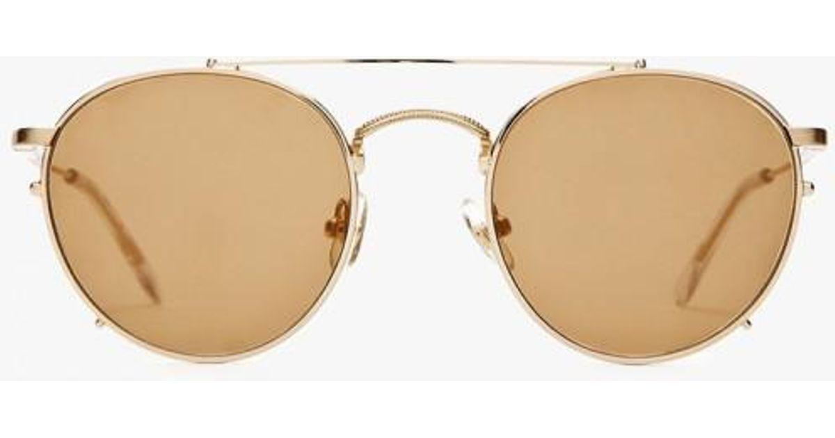 cb3136acd76 Crap Eyewear The Tuff Safari Sunglasses in Metallic - Lyst