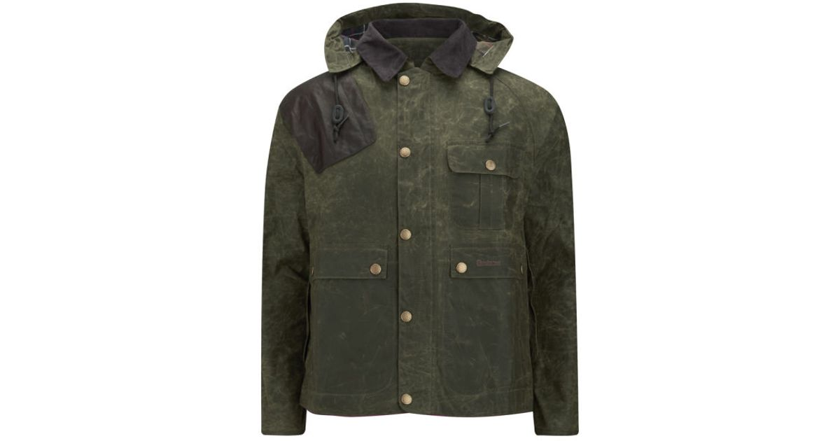 5c89d3f16ff8 Barbour Men Waxed Ware Lyst Jacket Men s Hunting For Green In wxC4x
