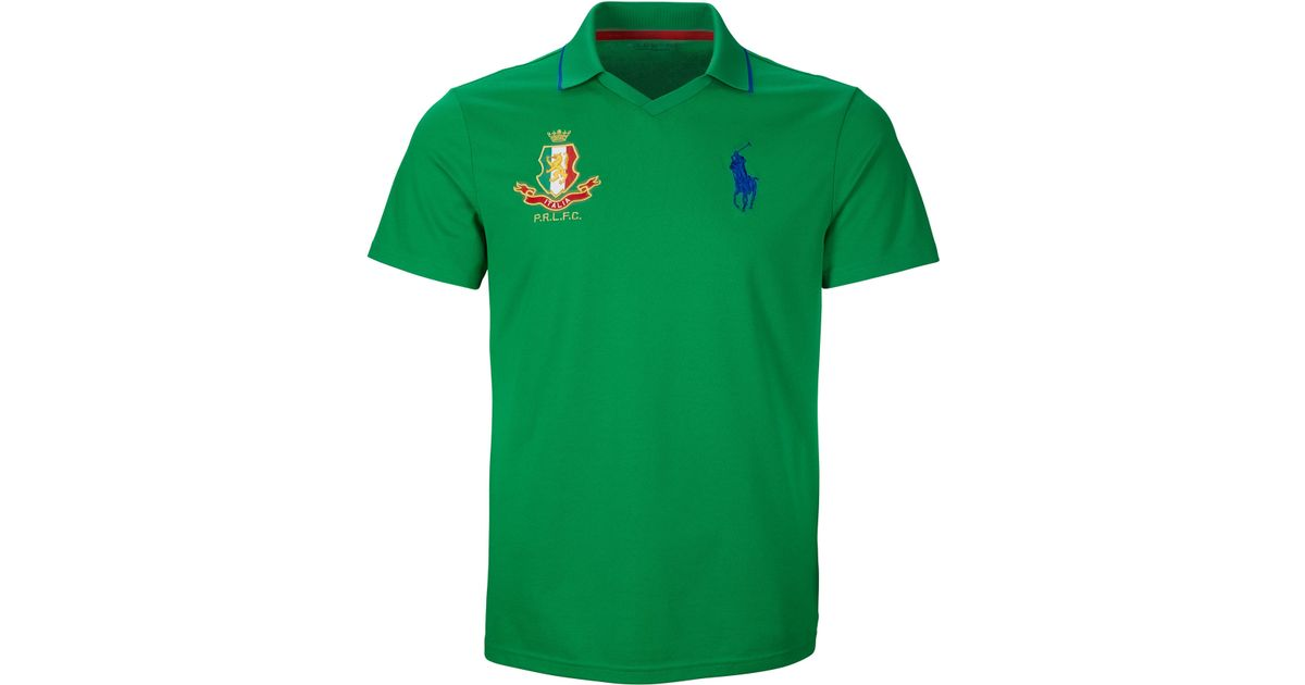 0bc5d7f3c ... reduced ralph lauren italy polo shirt in green for men lyst 8ee8d 081b2
