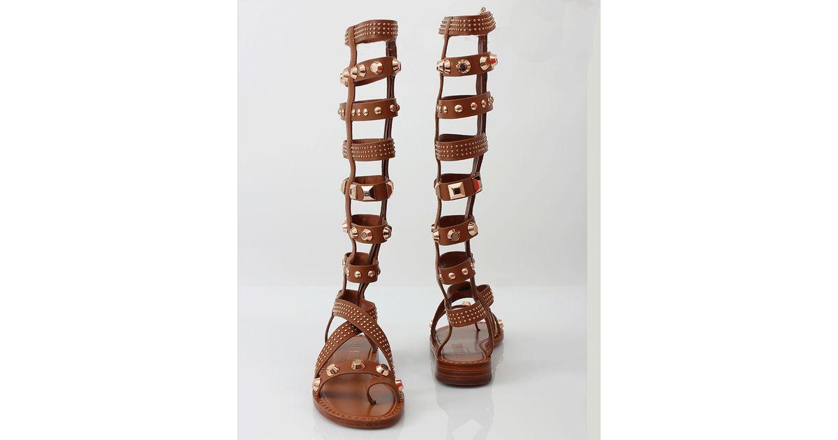 4d2dbd1084b Lyst - Ivy Kirzhner Triumph Gladiator Sandal in Brown