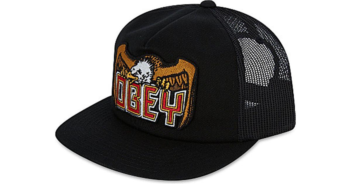 Obey Eagle Eye Trucker Cap bb4baebf80d