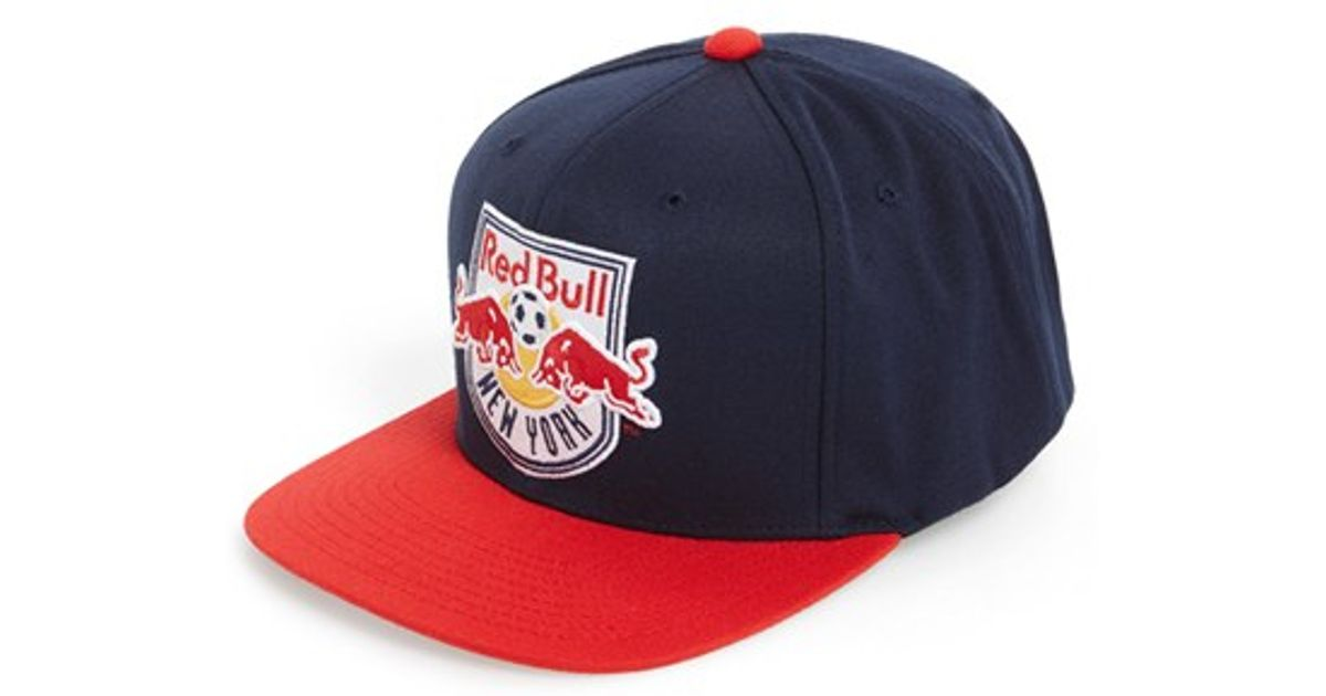 ccff3b9e1b2 Lyst - Mitchell   Ness  new York Red Bulls  Snapback Cap in Blue for Men