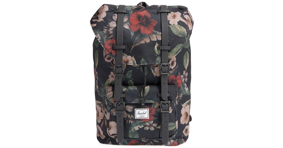 4a5fb84a9d Lyst - Herschel Supply Co.  little America- Mid Volume  Backpack in Green