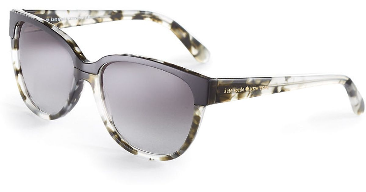 Kate Spade Tortoise Shell Glasses Frames : Kate spade Tortoise Shell Sunglasses in Gray Lyst