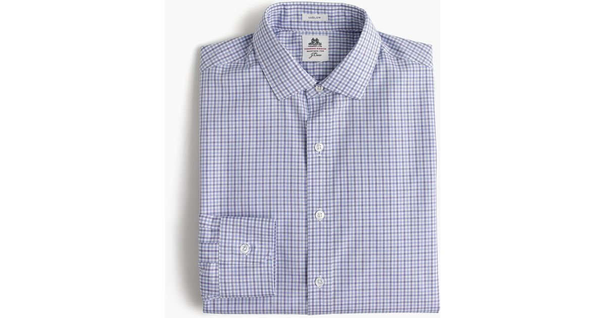 Thomas Mason Ludlow Shirt In End On End Cotton In