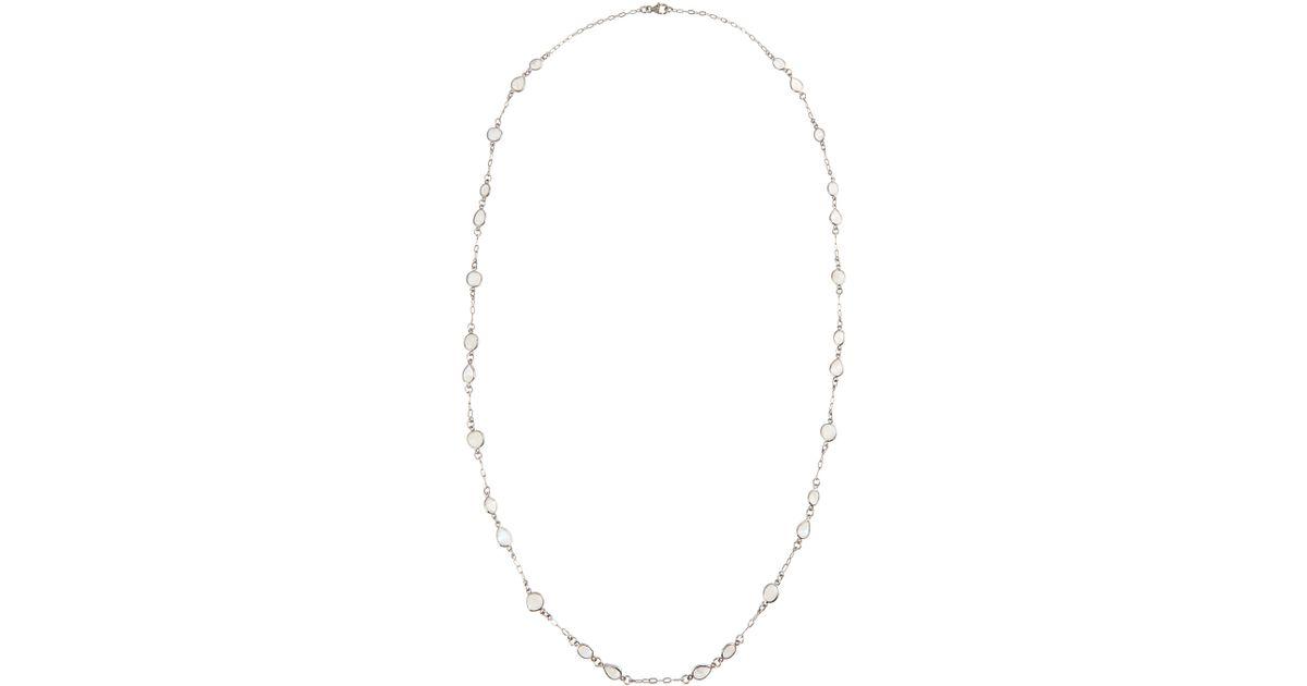 Bavna Mixed Stone-Station Long Chain Necklace EVQyIyV