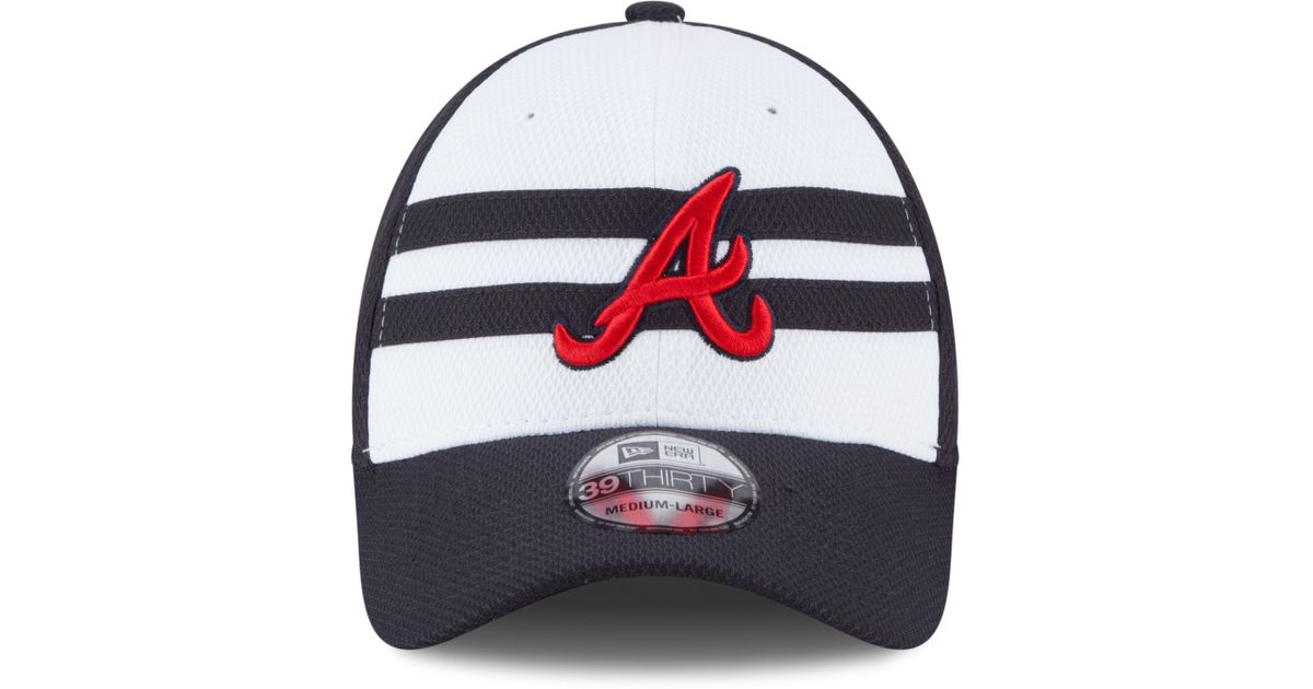 super popular 80c13 dc157 ... shop lyst ktz atlanta braves 2015 all star game 39thirty cap in blue  for men b1aff