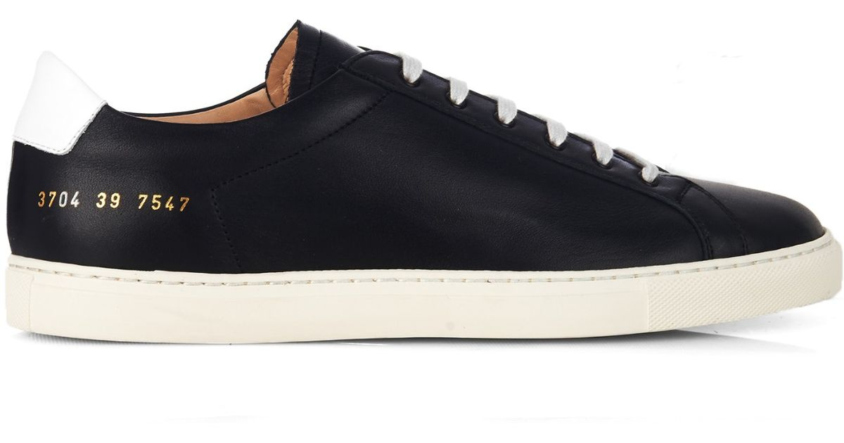 COMMON PROJECTS Achilles retro low top sneakers WfibZx5F