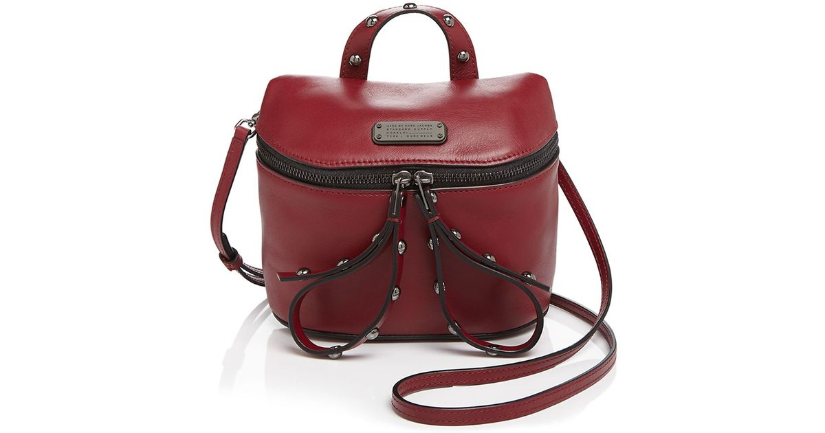 fca2206984fb Lyst - Marc By Marc Jacobs Canteen Rivets Crossbody in Red