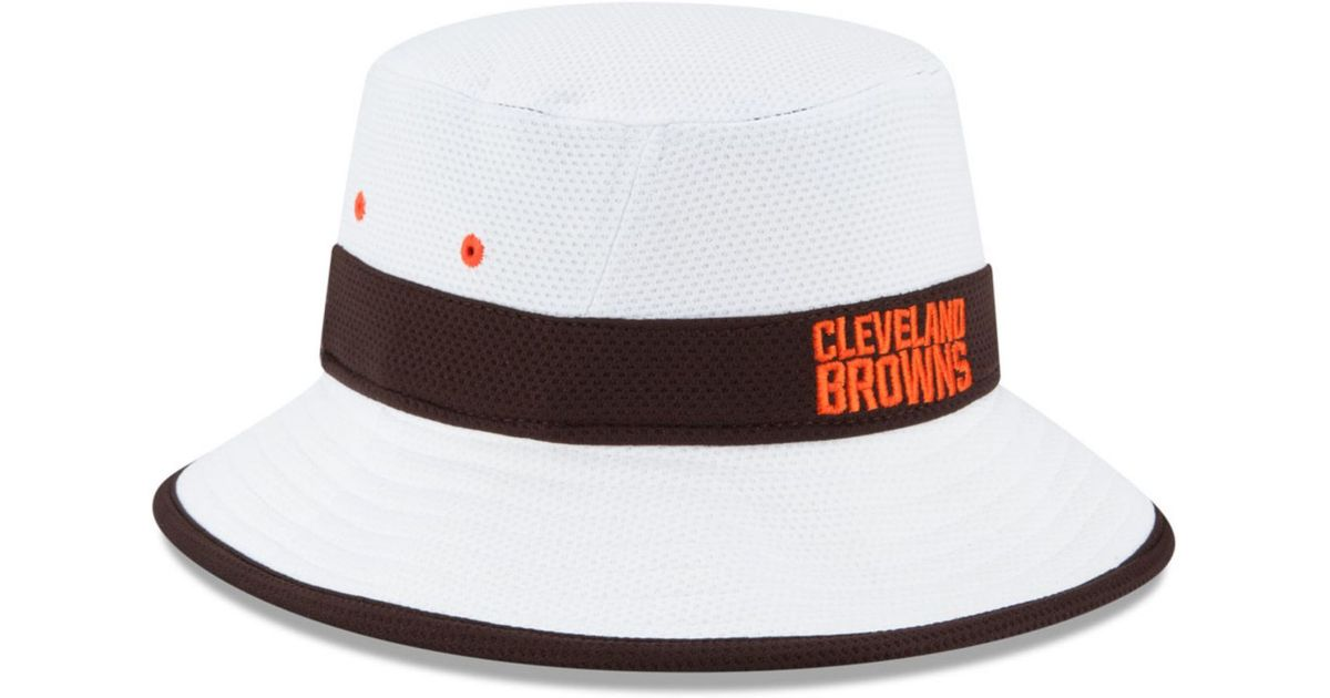 5ccde6481ca Lyst Ktz Cleveland Browns Training C Official Bucket Hat In