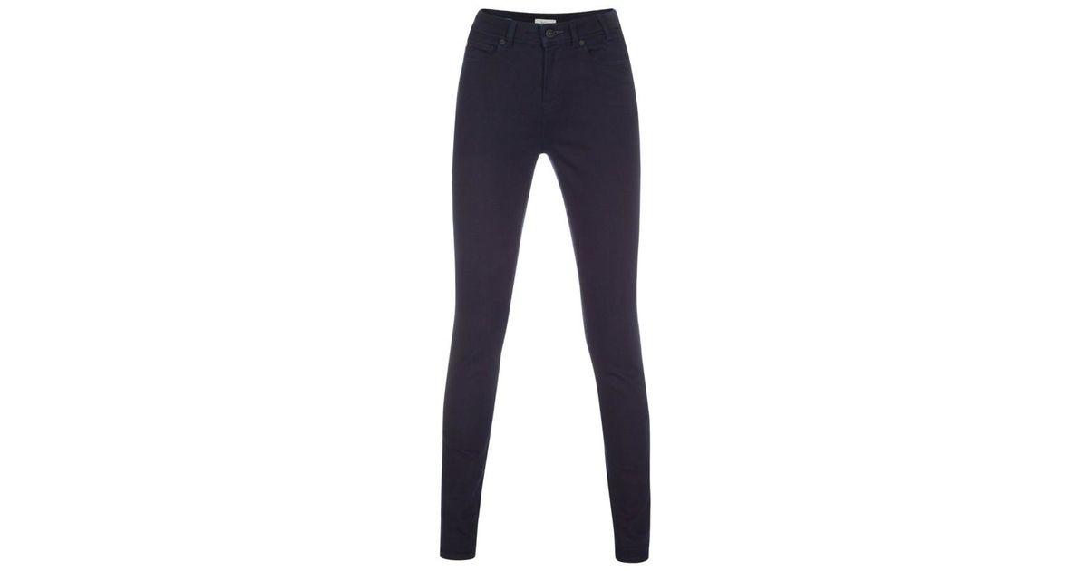 ff27091ae90 Lyst - Paul Smith Women s Dark-wash Indigo Denim High-waisted Skinny Jeans  in Blue