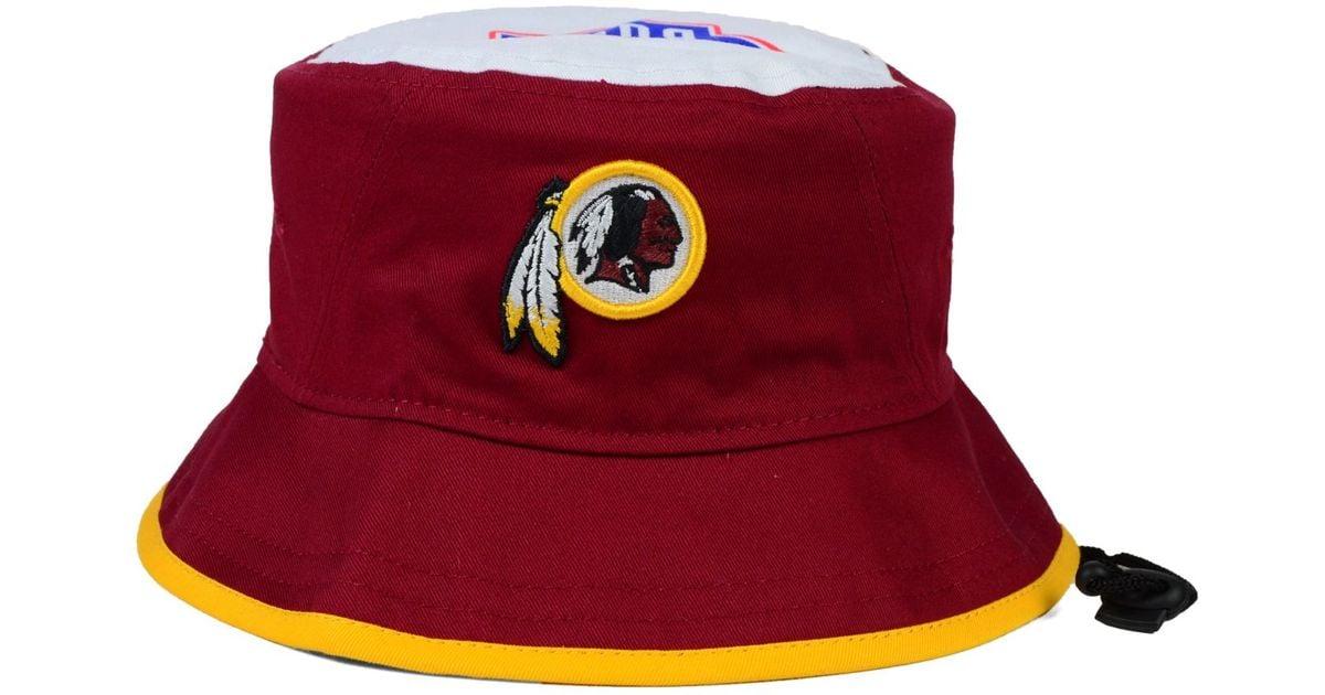 1ba3bd47e8a702 where can i buy lyst ktz washington redskins traveler bucket hat in purple  for men 08171