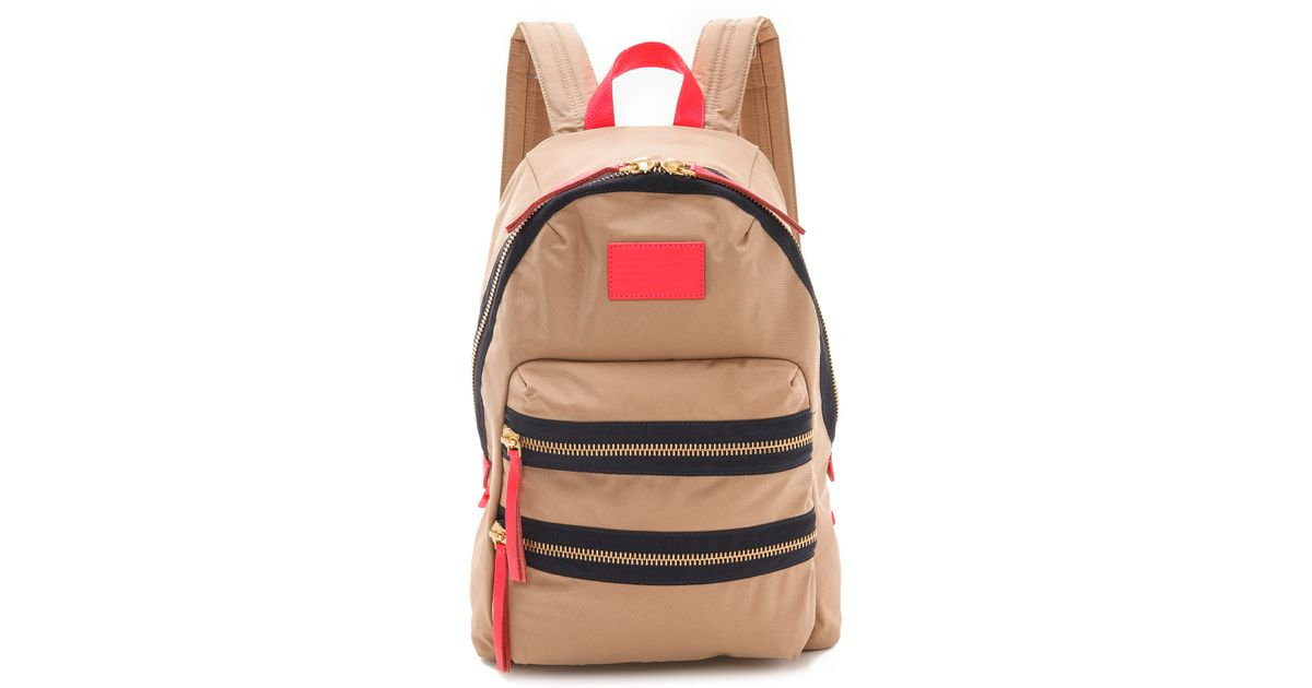 d79a70ae52 Marc By Marc Jacobs Domo Arigato Backpack in Brown - Lyst