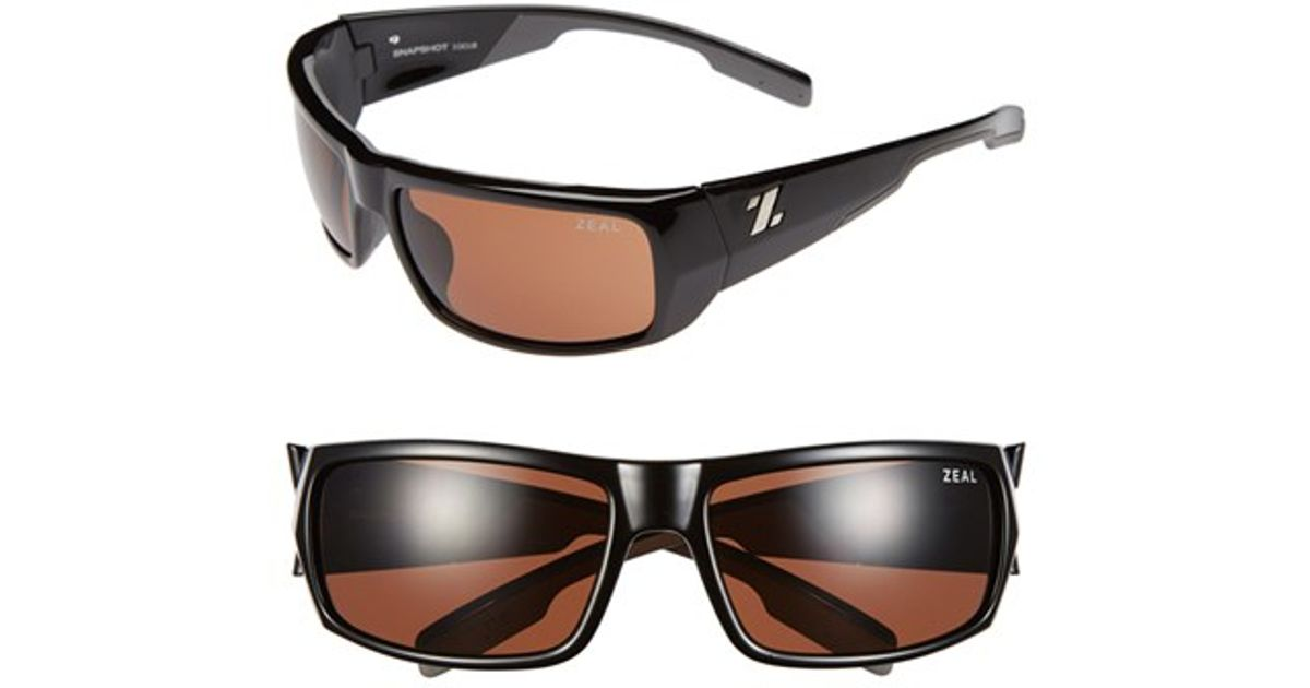 cebd721605b9 Lyst zeal optics snapshot polarized sunglasses in black jpg 1200x630 Zeal  optics sunglasses