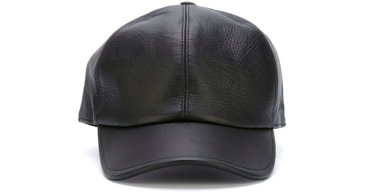 471025d51b2 Lyst - Brioni Curved Peak Cap in Black for Men