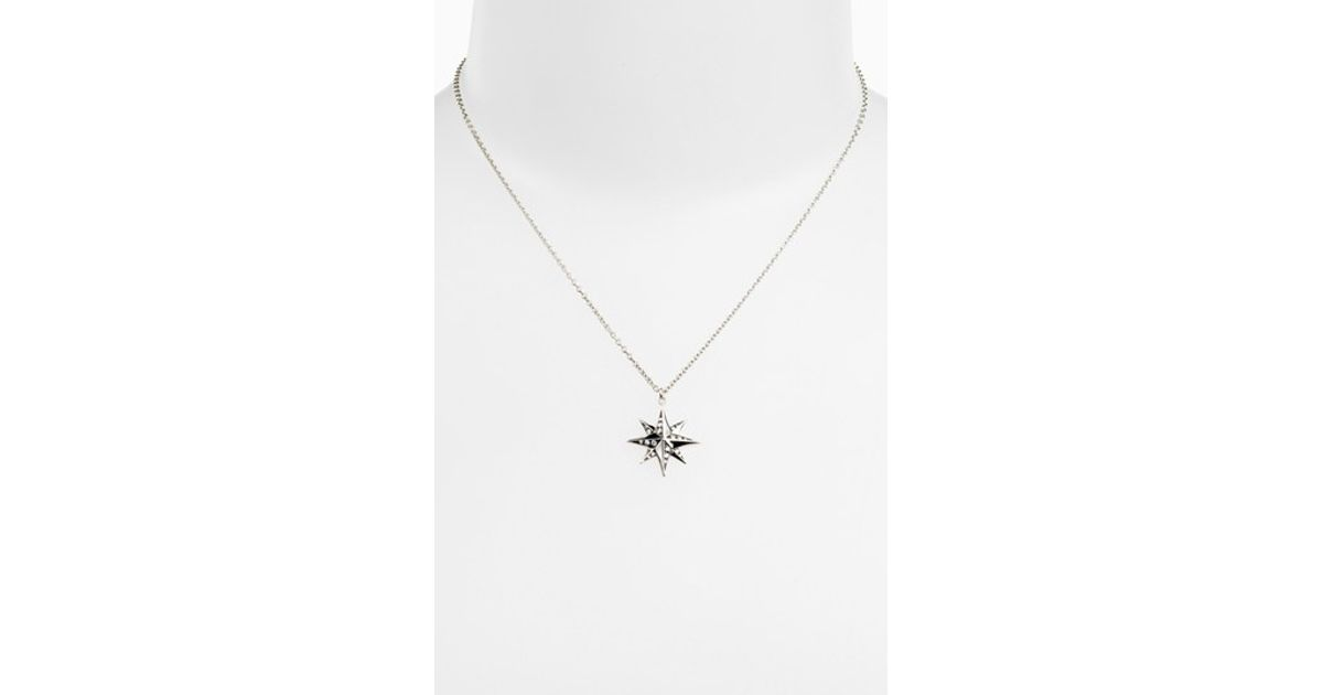 aeae6304d Kwiat 'mollie Faith' Star Pendant Necklace - Metallic Gold in Metallic -  Lyst