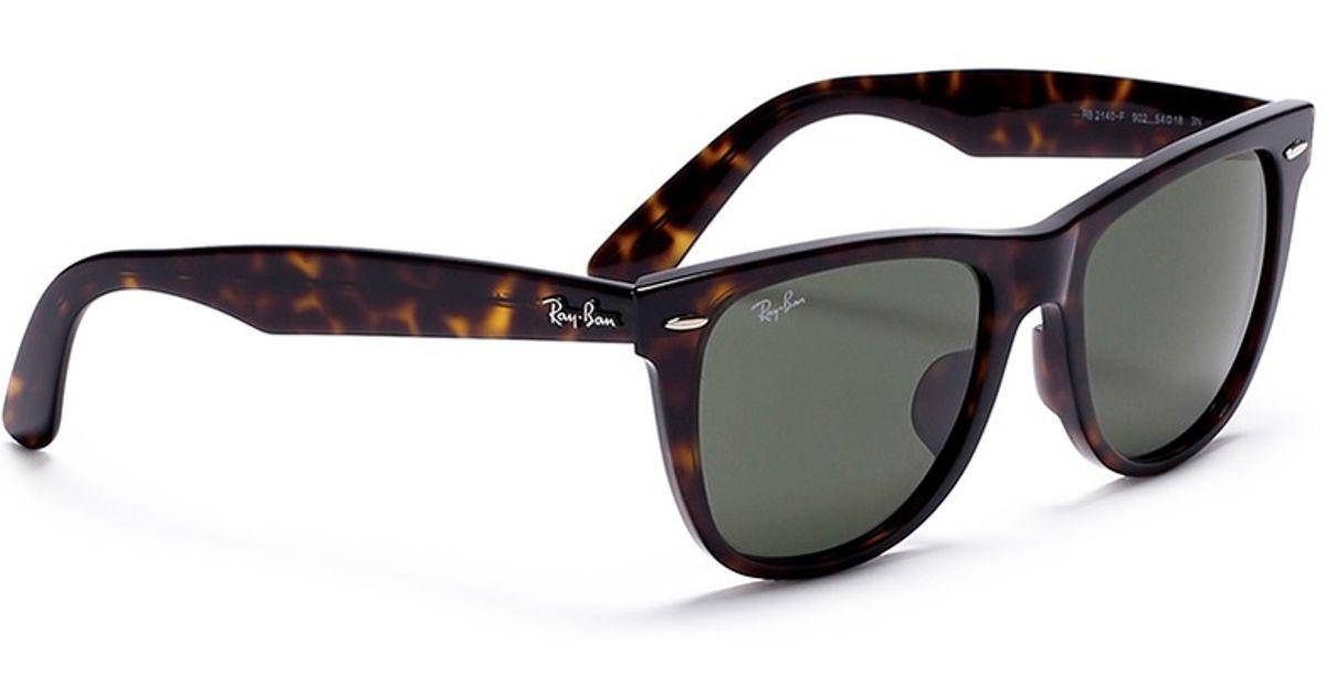 bc903cbe3202f ... denmark ray ban original wayfarer classic tortoiseshell acetate  sunglasses in brown for men lyst b9c67 1b1ec
