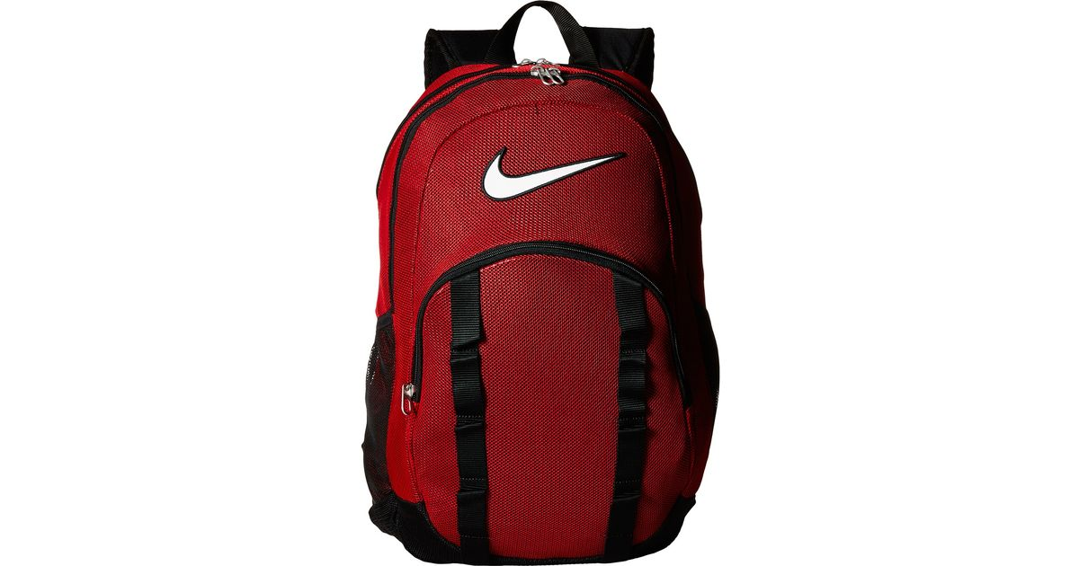 Lyst - Nike Brasilia 7 Backpack Mesh Xl in Red for Men