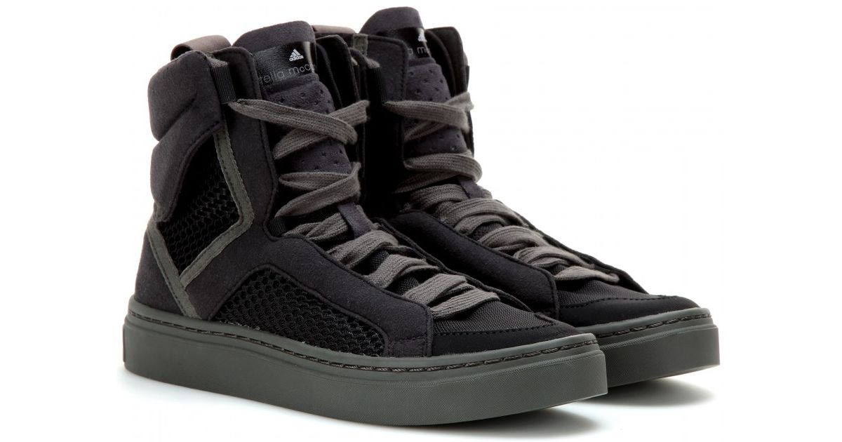 Adidas by Stella McCartney asimina High Top zapatilla en negro Lyst