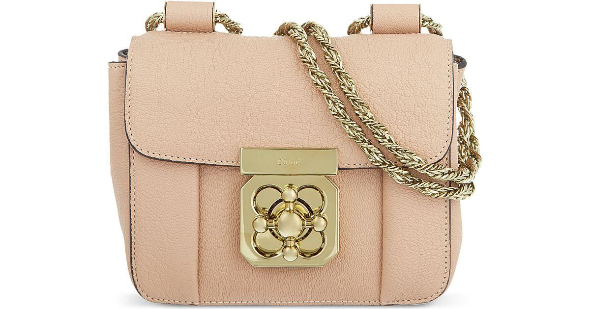 Chlo¨¦ Elsie Mini Chain Bag - For Women in Beige (Biscotti beige ...