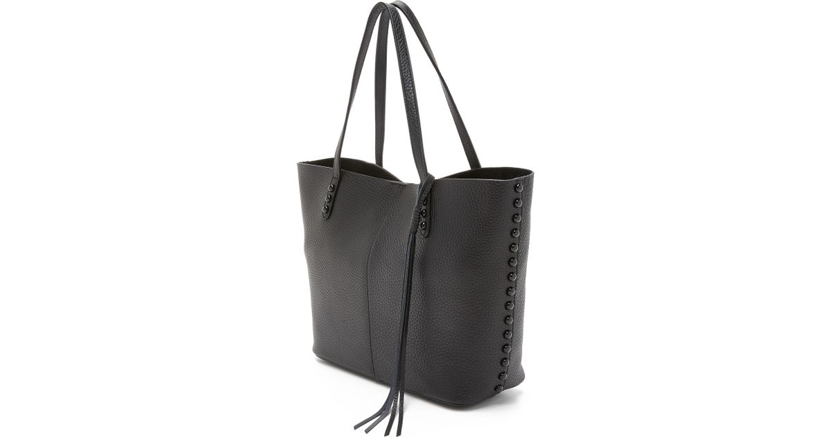 91c157b9b Rebecca Minkoff Unlined Tote in Black - Lyst