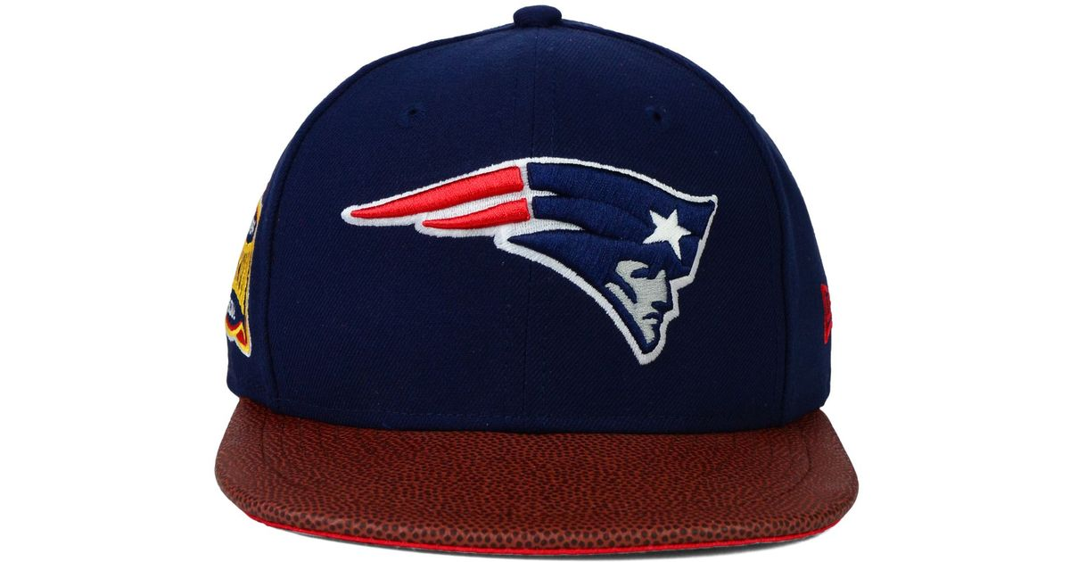 ea350d9be07 ... coupon for lyst ktz new england patriots super bowl xxxviii athlete  vize 9fifty snapback cap in